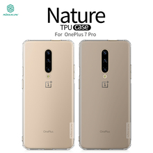 For Oneplus 7 pro Case NILLKIN Ultra Thin Slim TPU Fitted Cases Cover
