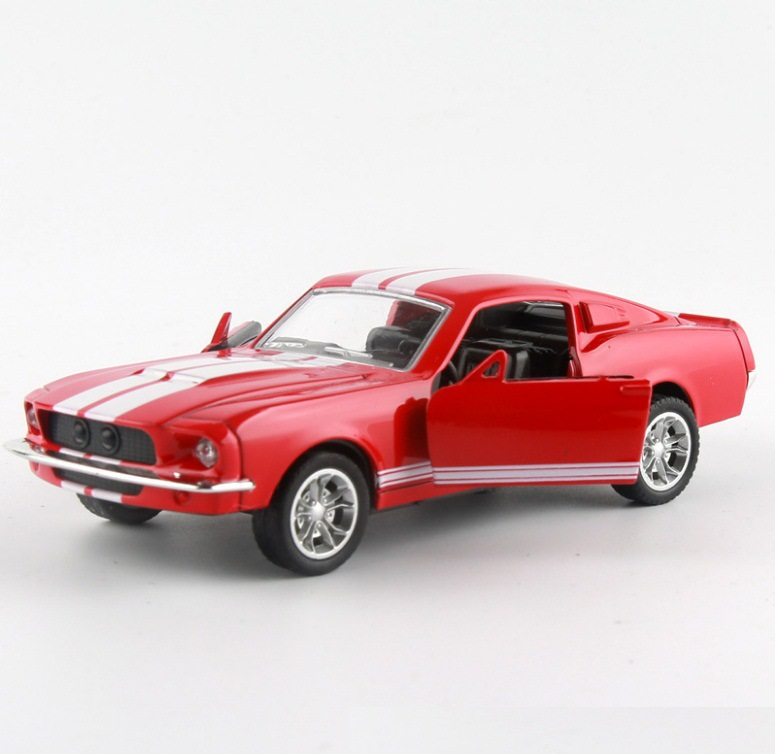Ford Mustang GT 1967 GT500 Toy Car 13x5x35cm 7