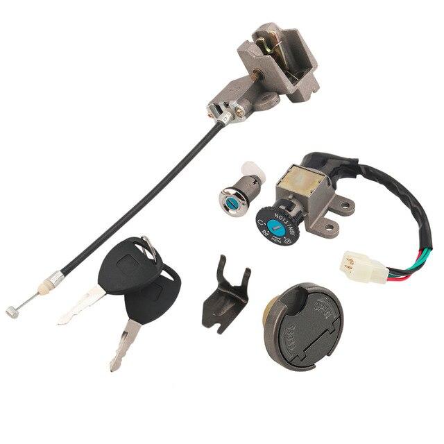 Universal Key Ignition Switch Lock Set Scooter Moped 110 150 250cc 49 50cc For Suzuki