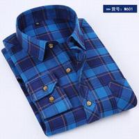 New Arrival Men Plaid Shirts Long Sleeve Cotton Man Casual Shirt Autumn Spring Men S Tops