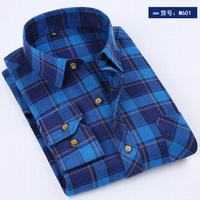 New Arrival Men Plaid Shirts Long Sleeve Cotton Man Casual Shirt Autumn Spring Men S Tops