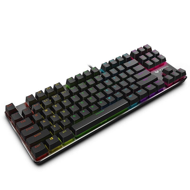 43af3005ea1 Rapoo V500 RGB LED Backlit Gaming Keyboard Full Keys Programmable  Anti-ghosting PC Gamer Mechanical Keyboard
