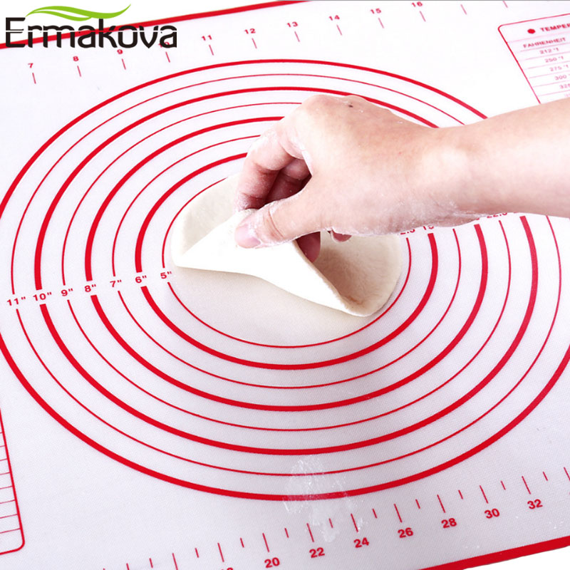 Ermakova Silicone Baking Mat Thick Non Slip Sheet With