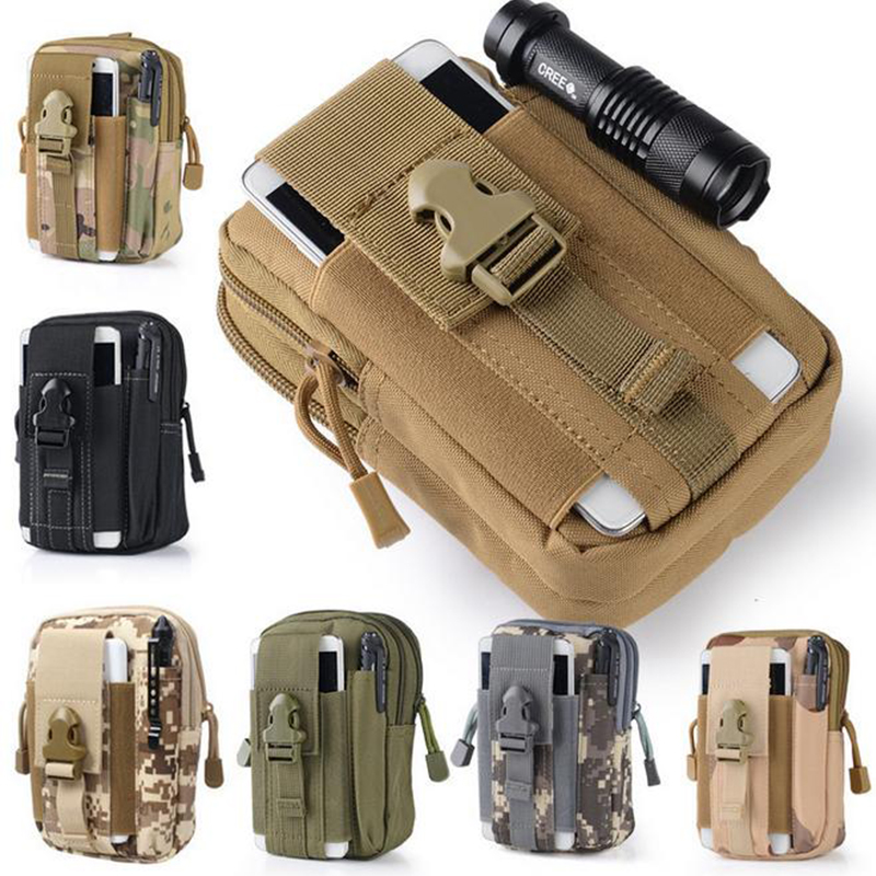 Beg taktikal molle kantung pinggang pek pek pinggang Pocket pinggang - Beg sukan - Foto 2