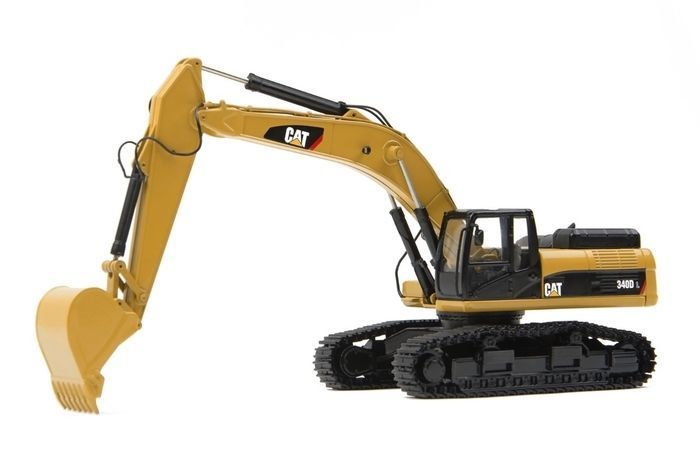Tonkin 1:50 Caterpillar CAT 340D L Hydraulic Excavator Engineering Machinery TR20001 Diecast Toy Model Collection,Decoration