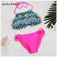 Sexy Bikini 2017 Women Swimsuit Push Up Swimwear Female Brazilian Bikini Set Bandeau Summer Beach Swimwear
