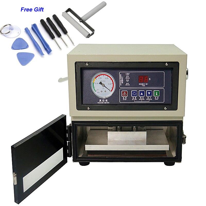 LY 818 Digital LCD Auto Altura Ajustável OCA Laminador Máquina de Estratificação 8 Polegadas Tela LCD Ferramentas de Reparo