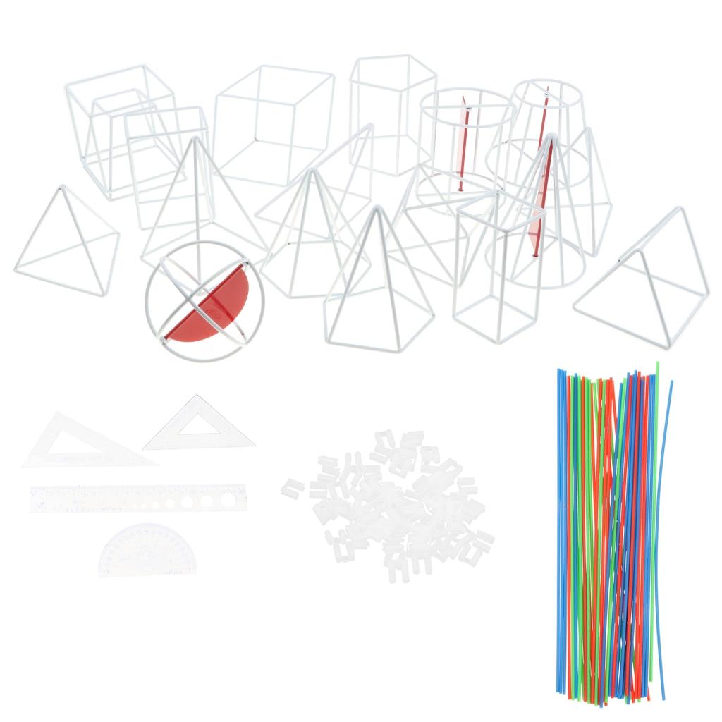 Géométrique 3D modèle école mathématiques géométrie visuelle outils d'enseignement aides à l'apprentissage