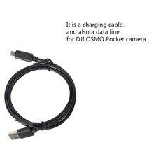 OSMO карманные аксессуары для кабелей питания зарядный кабель дата-линия Совместимость с DJI Osmo Pocket