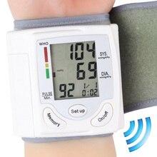 Compare Prices Gustala Automatic Digital Sphygmomanometer Wrist Cuff Arm Blood Pressure Monitor Meter Gauge Measure Portable Bracelet Device