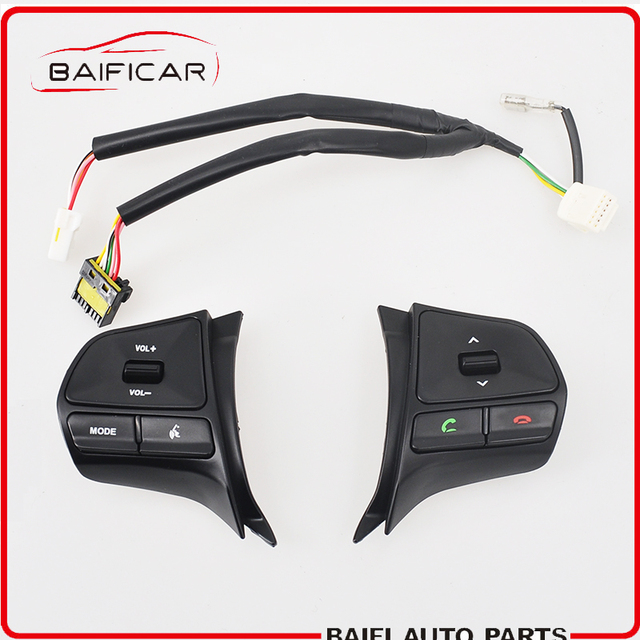 US $25 98 |Baificar Brand Genuine Multifunction Steering Wheel Key Module  Audio Control Bluetooth Phone With Wire Harness For KIA K2 RIO-in Car