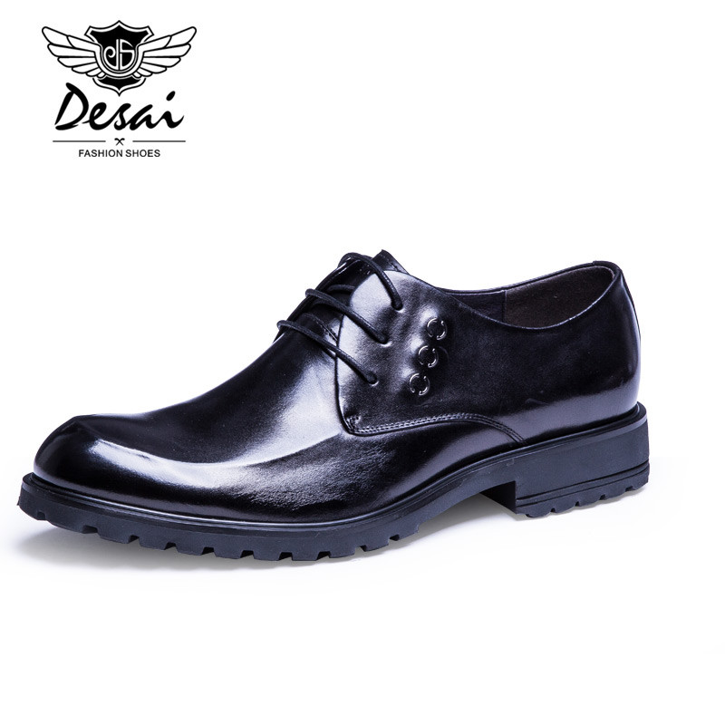 Genuine Leather Men Oxfords Shoes For Men Dress Shoes Top Quality Men Shoes Formal top quality crocodile grain black oxfords mens dress shoes genuine leather business shoes mens formal wedding shoes