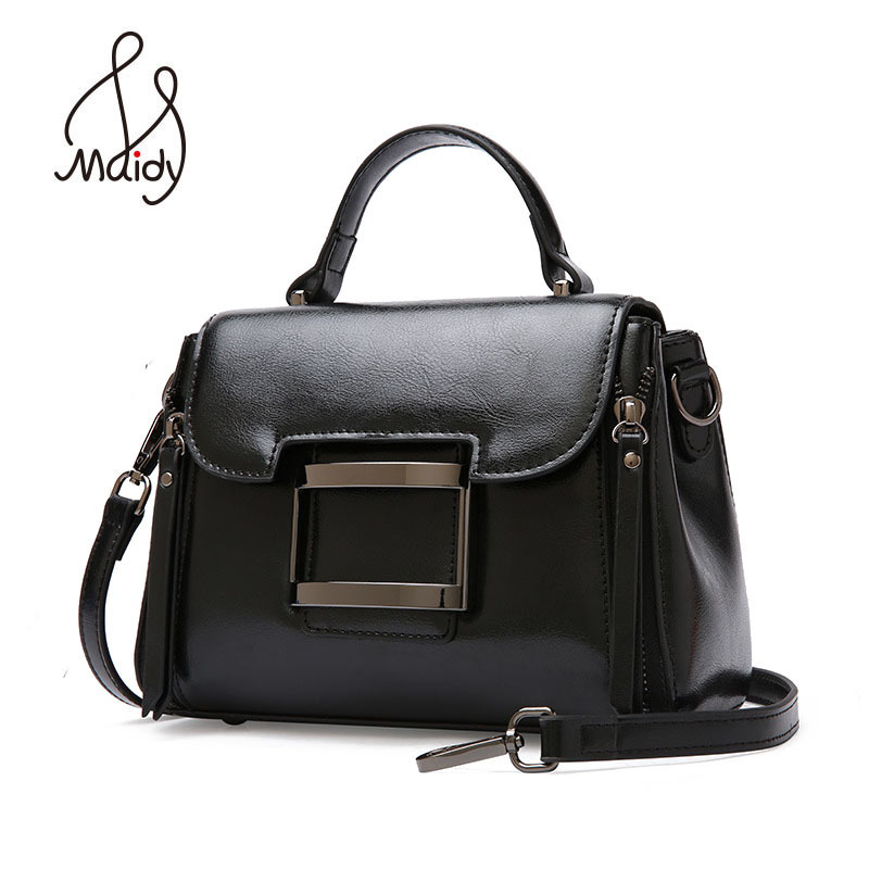 Luxury Genuine Cow Leather Women's Handbags Women Tote Crossbody Bags For Designer Ladies Messenger Shoulder High Quality Maidy women handbags genuine leather crossbody messenger bag tote ladies designer high quality shoulder bags for women