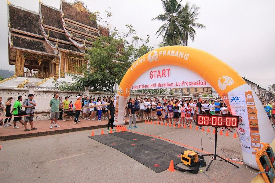 Mieten Typ Made In China 100% Garantie ZuverläSsig Sponsoren Logo Auf Luftdichte Arch Aufblasbare Für Malaysia Laos Singapur