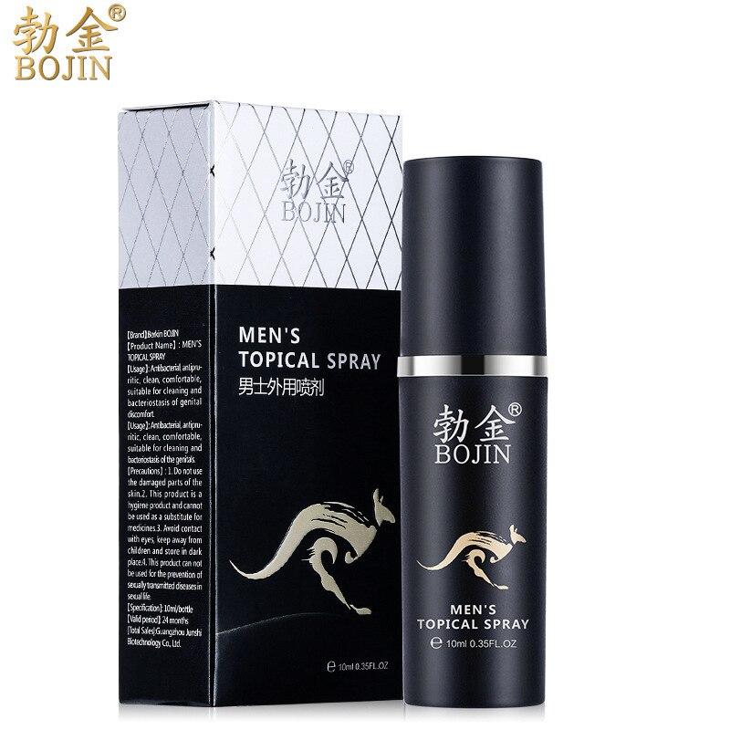 2pcs Men Spray 10ml Love Stimulation Climax Orgasm Spray Time Delay Long Lasting 60min Increase Big Dick Extender Enlargement