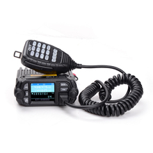 100% orijinal QYT KT 8900D araba radyo 200 kanal VHF/ UHF FM araç üstü radyo verici Walkie Talkie