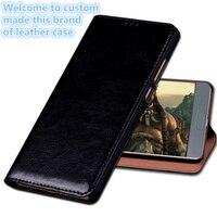 HX06 Genuinel Leather Flip Cover With Kickstand For Xiaomi Mi5X Phone Case For Xiaomi Mi5X Phone Cover
