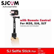 SJCAM Aluminum 3m Waterproof Handheld Selfie Stick Monopod + WiFi Remote Control for M20 SJ6 Legend SJ7 Star SJ360 Action Camera