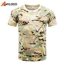 Летние мужские камуфляжные футболки из питона армейские тактические