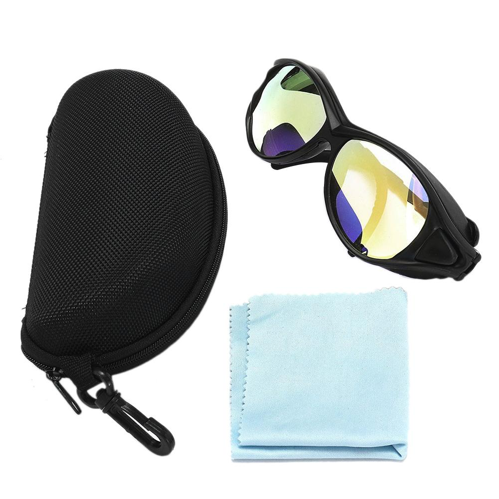CO2 Laser Eye Protective Goggles W/ CO2 10600nm OD Double-Layer Professional Clear Safety Glasses