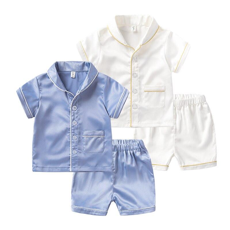 Boys short sleeved home wear suits, 2-3-6 year olds, summer leisure Lapel shirt, baby short sleeve, two sets подставка для цветов sheffilton соната