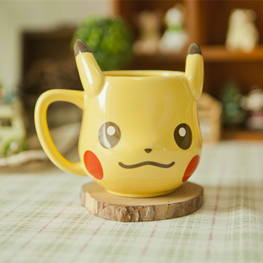 Pikachu Coffee-Tea Mug Cup Set