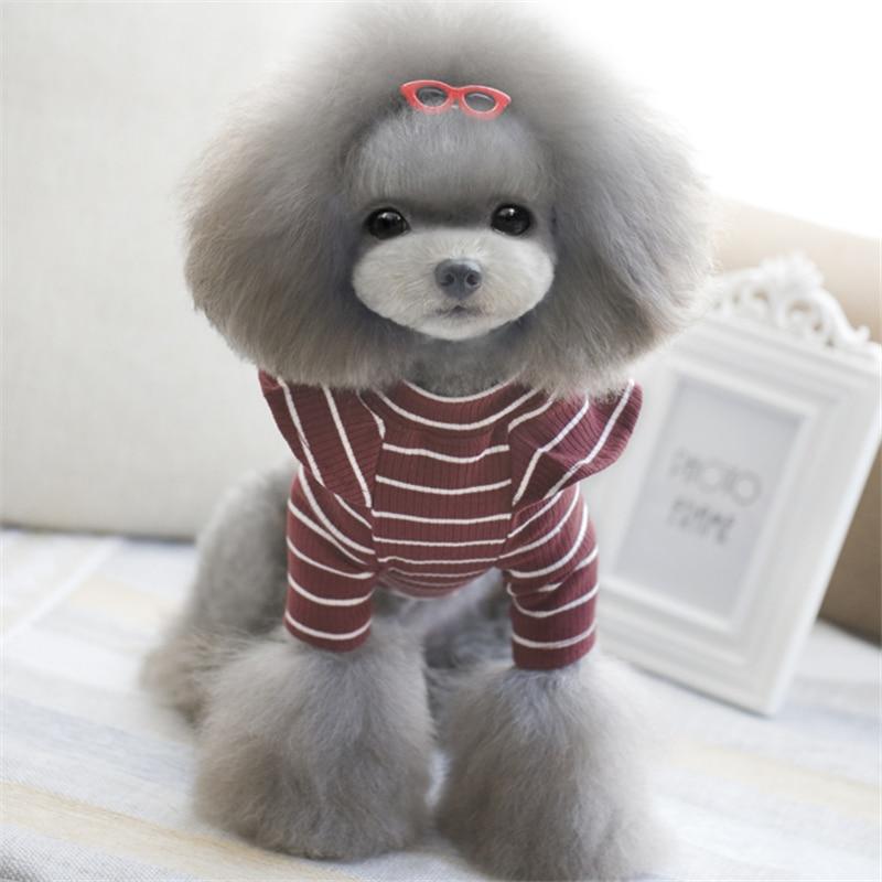 Pet Products Dog Supplies Dzīvnieku apģērbu modes meiteņu suns kaķu kucēnu apģērbu pavasara rudens