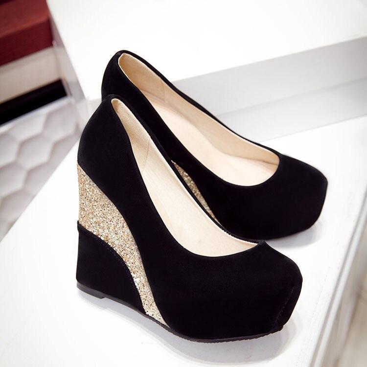 MXNET Chaussures de Danse Latine Professionnelle, Chaussures de Danse de Salon Professeurs Chaussures Noir Chaussures en Cuir Véritable de Vache pour Femme (Couleur : Black, Size : 230)