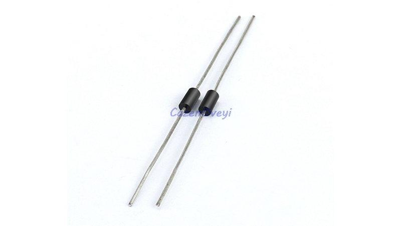 100pcs/lot Schottky Rectifier <font><b>Diode</b></font> <font><b>1N5817</b></font> 1N5819 1N5399 1N4937 1N4004 1N4001 1N4007 UF4007 HER107 FR207 FR157 FR107 RL207 DO-41 In Stock image