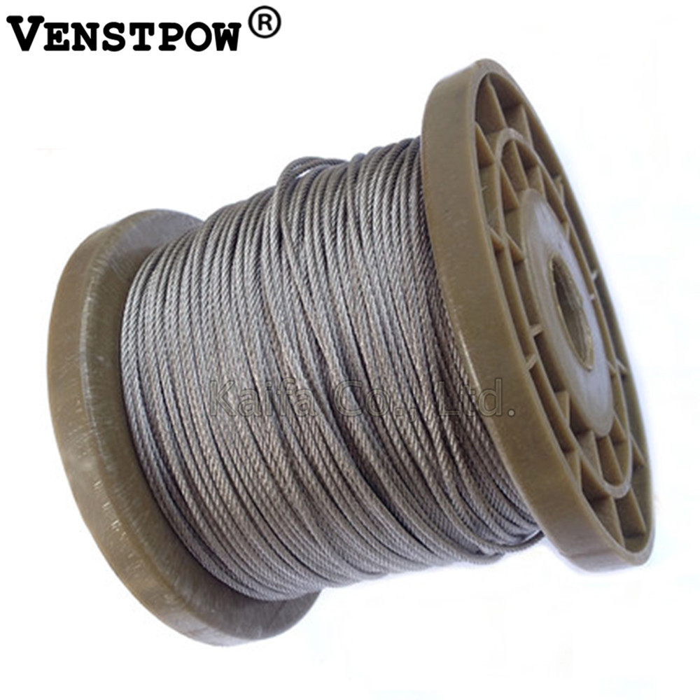 6MM 12MM, PVC coated 6X12+FC steel wire rope clothesline greenhouse ...
