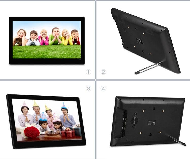 14 Inch Digital Photo Frame Ips Widescreen 19201080slide Show