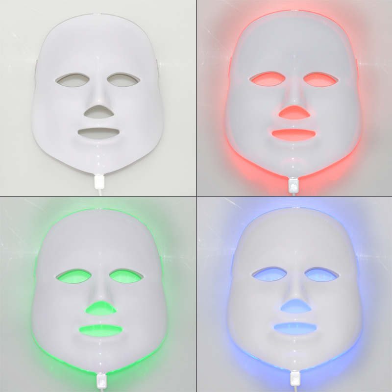 Korean LED Photodynamic Facial Mask Home Use Beauty Instrument Anti-acne Skin Rejuvenation LED Photodynamic Beauty Masks hot sale safety home use electric potential therapeutic instrument beauty
