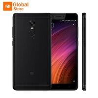 Original Xiaomi Redmi Note 4X Prime 64GB ROM 4GB RAM Mobile Phone MTK Helio X20 Deca Core 5.5
