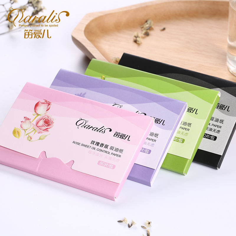 1Pack 80pcs Facial Absorbent Paper Oil Control Absorbing Sheet Oily Face Blotting Matting Tissues Matcha Face Mask Sheet Paper shanghai 100pcs box oil blotting sheets absorbing paper face oil control makeup tools cleansing face oil absorbing sheets