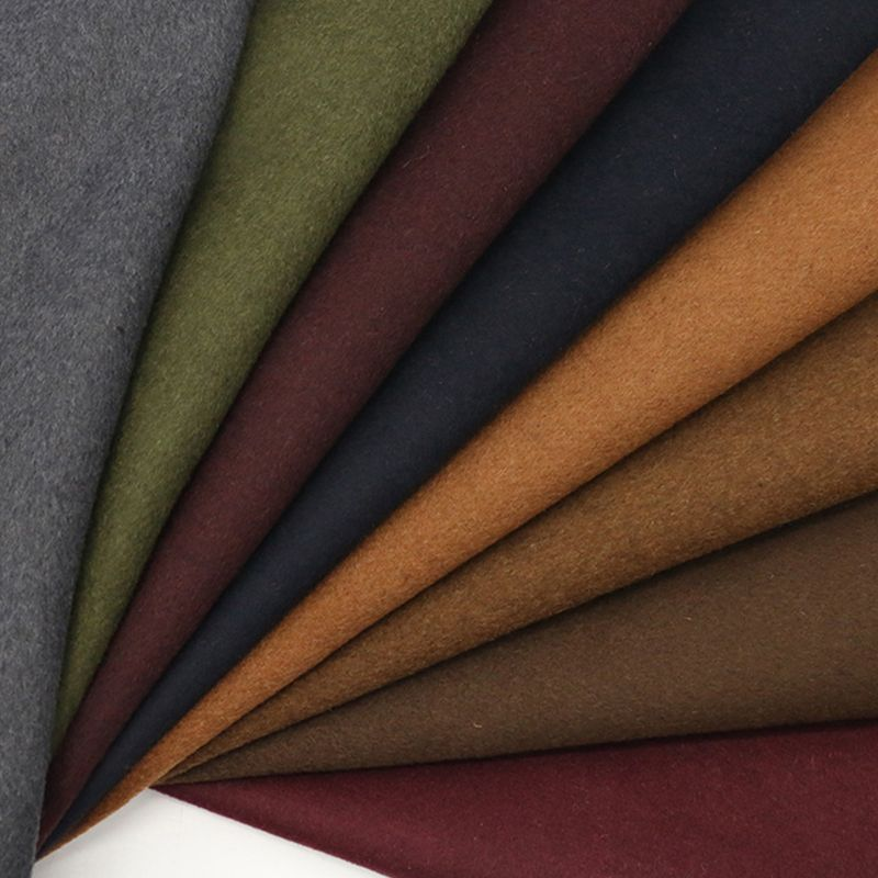 Pardessus en laine 100% Double face tissus en cachemire tissus en laine pure de haute qualité