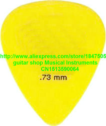 new 72 piece Guitar Picks 73 mm Yellow Guitar Picks from china free shipping