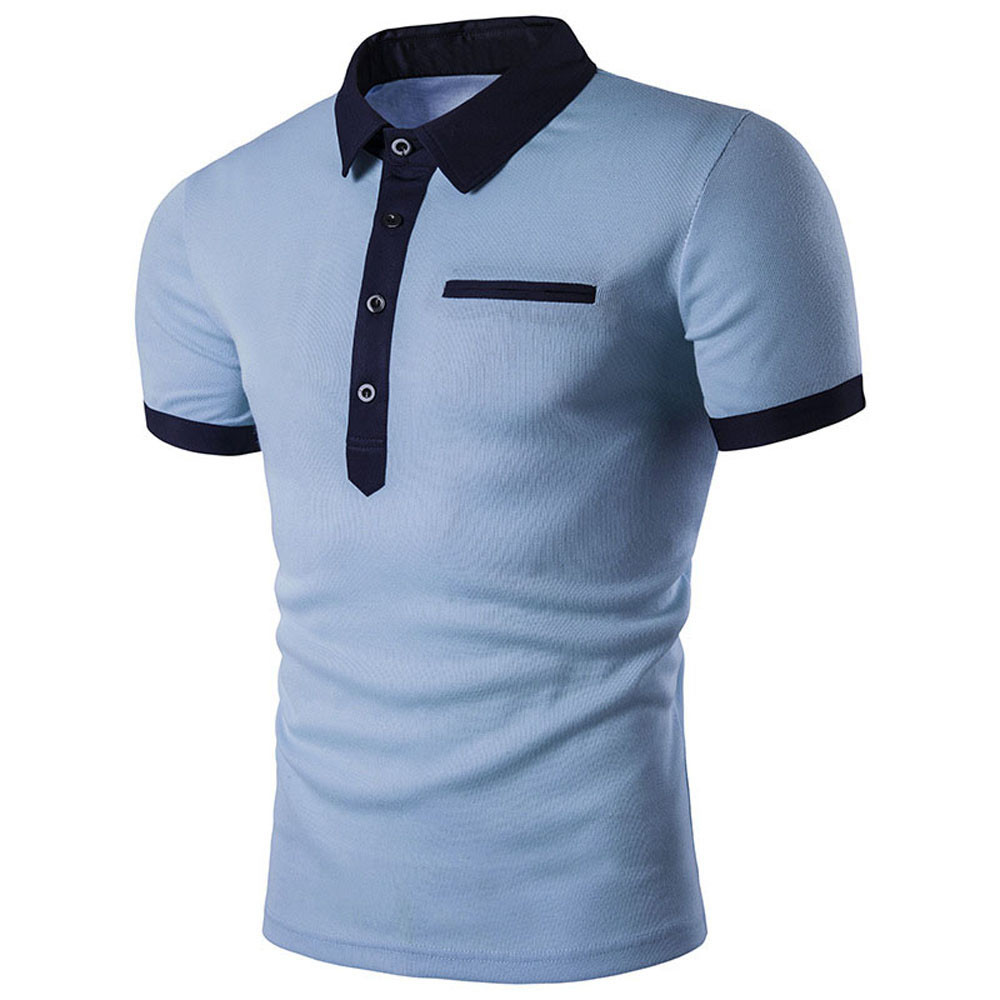 The best polo shirts for men - Best Price Men S Contrast Tipped Polo Shirt Men Men S Slim Short Sleeve Casual Polo Shirts Tee Tops Mar27 In Polo From Men S Clothing Accessories On