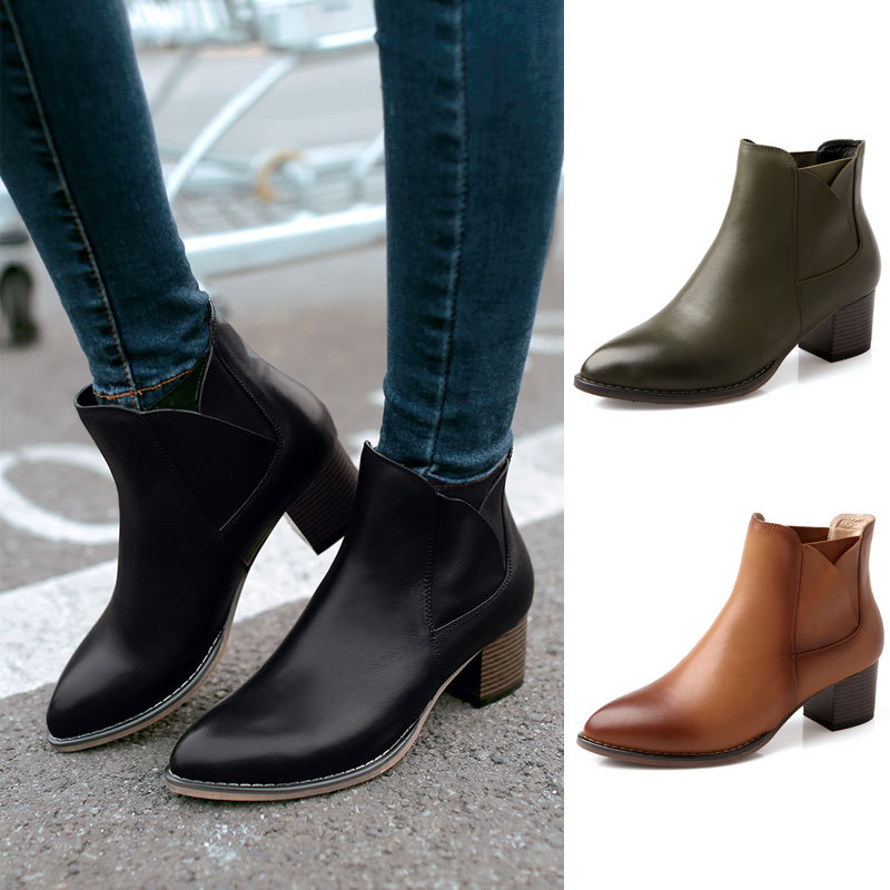 Aliexpress.com : Buy genuine leather 2014 brand designer boots for ...