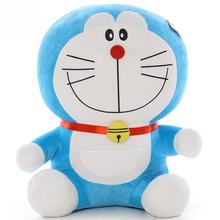Kawaii Anime 25cm Stand By Me Doraemon Plush Soft Toy Stuffed Doll Cat Five Styles For Girls Baby Kids Lover Best Gift(China)