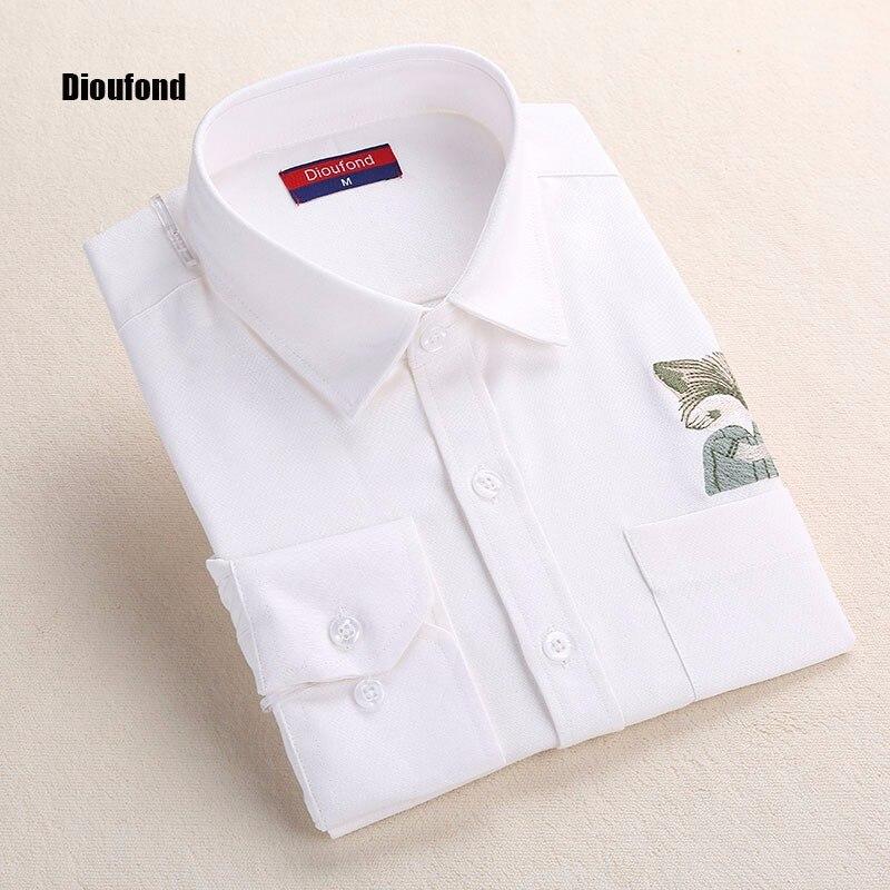 HTB1G8hiOFXXXXcOXXXXq6xXFXXXt - New Blouse Shirts Print Fox on Pocket Shirts Lady Tops