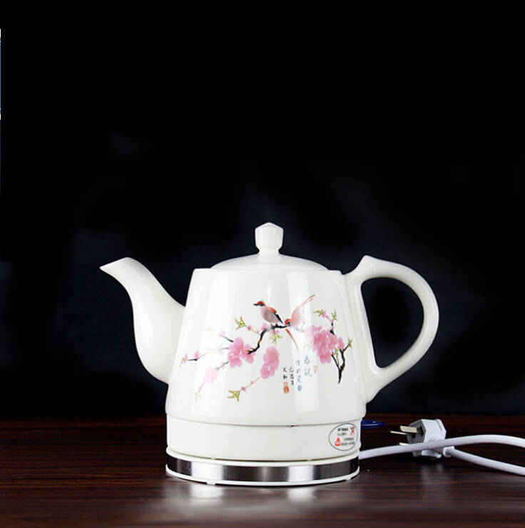 Fast brew tea ware to prevent dry - burning automatic power - off ceramic electric teapot electric kettle wholesale dual dutch piece suit yixing tea tray ceramic ru ding black dragon tea