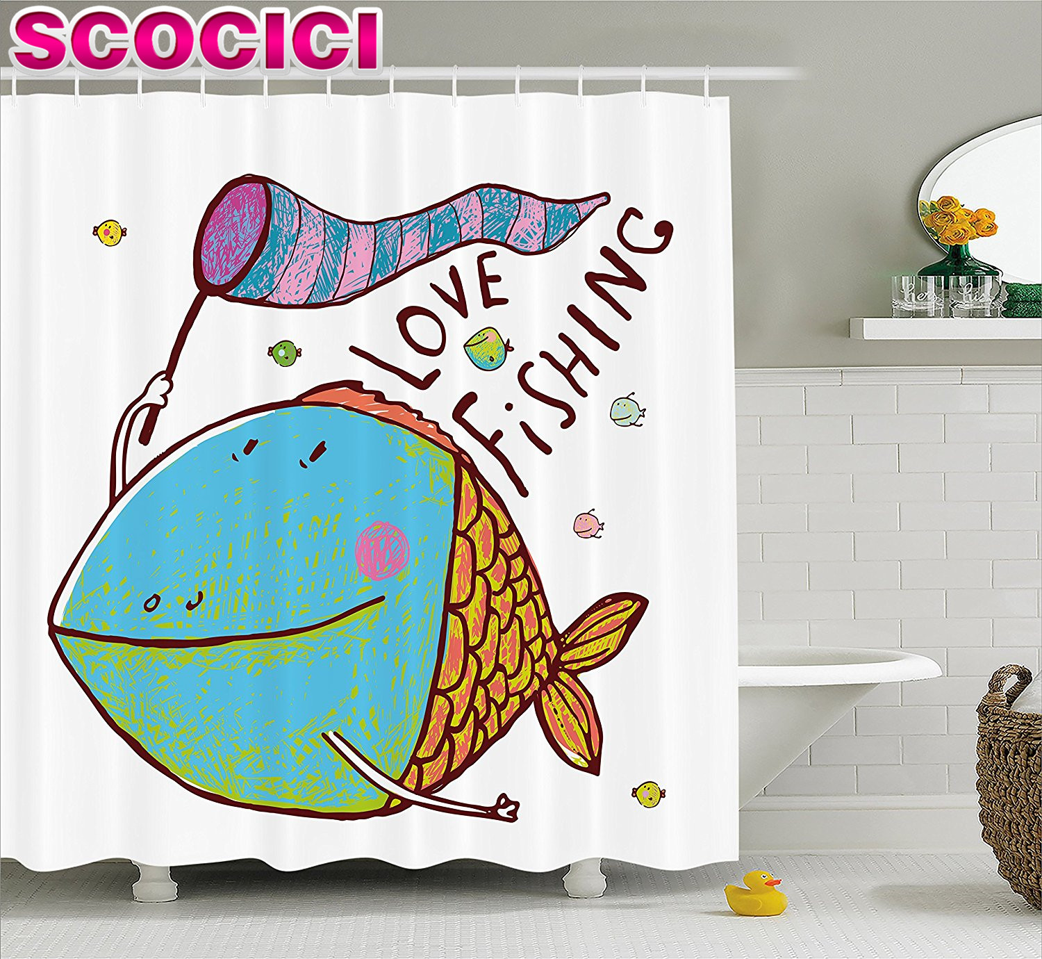 Bathroom Fish Decor Fish Themed Bathroom Promotion Shop For Promotional Fish Themed