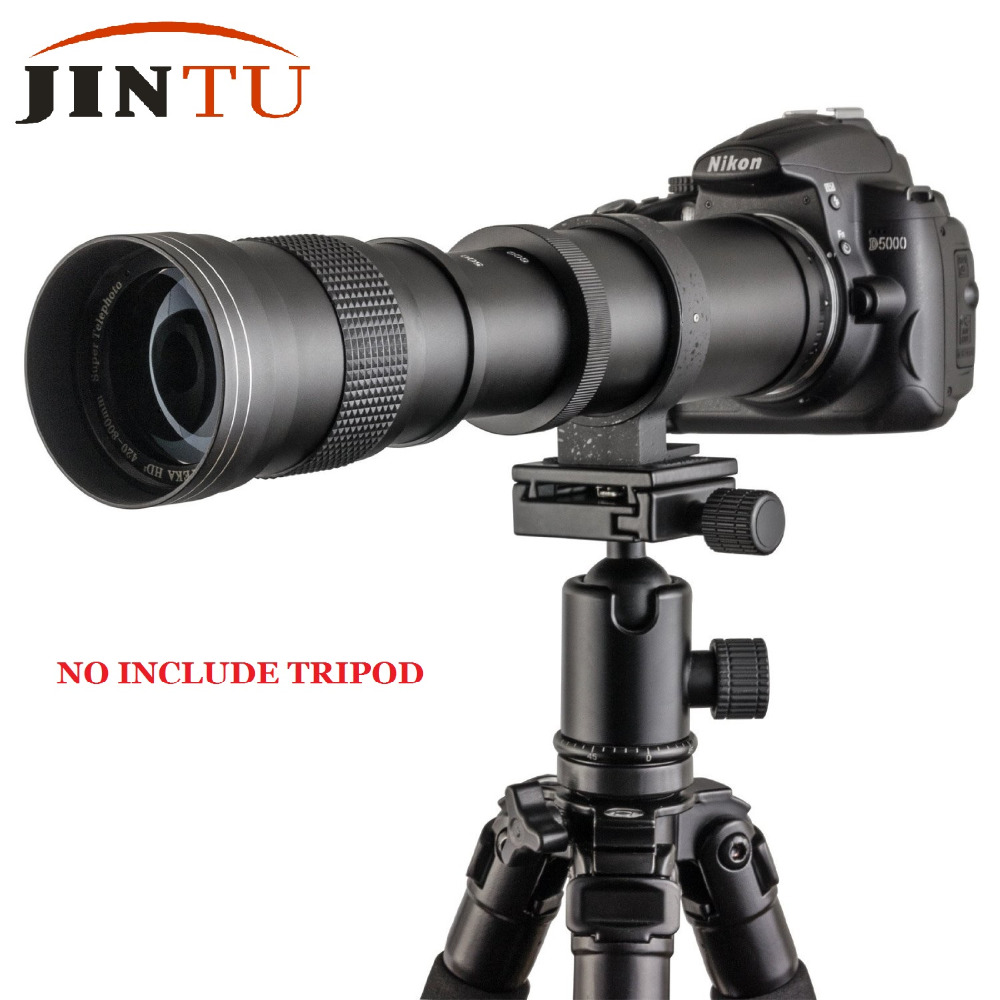 JINTU 420 800mm Pro F 8 3 16 Tele Telephoto Lens Manual for Nikon D7100 D80