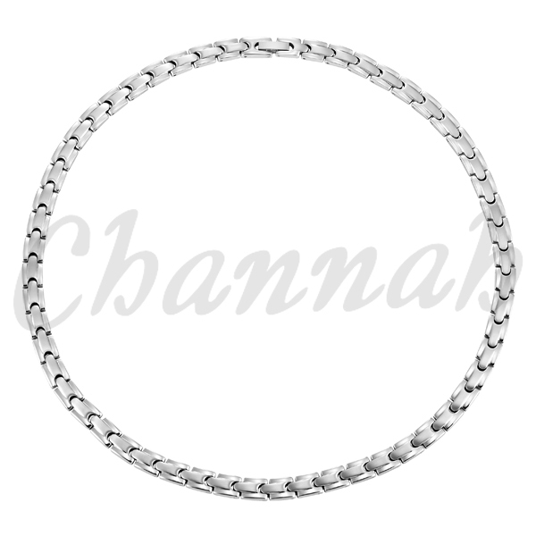 Channah 4in1 Magnetic Women All Silver Magnet 316L Stainless Steel Chain Necklace Pretty Magnetic Jewelry Free Shipping Charm