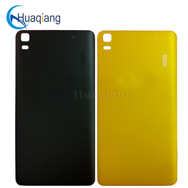 premium selection b18f4 f79ba US $5.01  New Original For Lenovo A7000 battery case replacement K3 NOTE  K50 T5 back cover with buttons hard plastic funda capa para-in Fitted Cases  ...