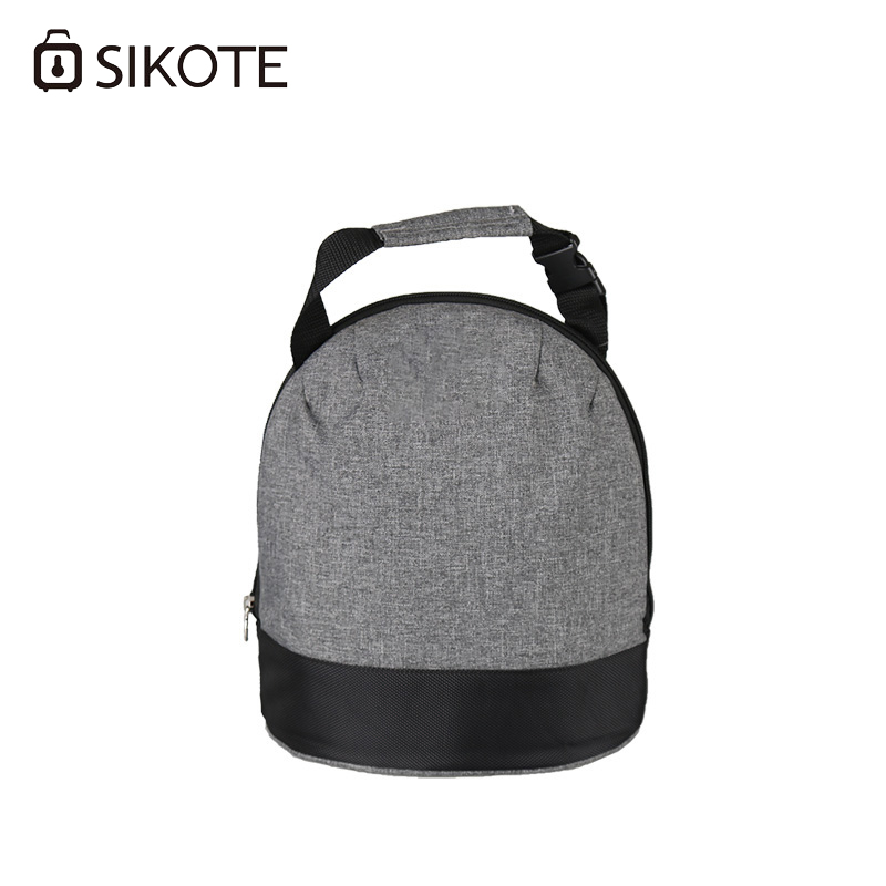 SIKOTE Lunch Bags Office Workers Student Canteen Bag Thicken Storage Portable Thermal Insulated Multi-Function Cooler Bag