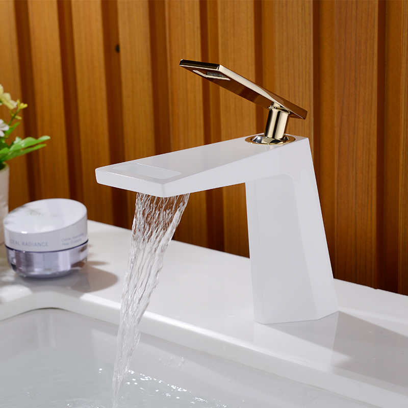 Robinet Simple Art Froid Bassin Lavabo Lavabo Robinet Installations