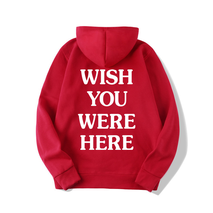 TRAVIS SCOTT ASTROWORLD WISH YOU WERE HERE HOODIES fashion letter ASTROWORLD HOODIE streetwear Man woman Pullover Sweatshirt 17