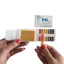 Urijk PH тестерная бумага полный диапазон 1-14 80 полосок PH тестер лакмусовый тест бумажный тестер моча здоровье слюны мочи воды