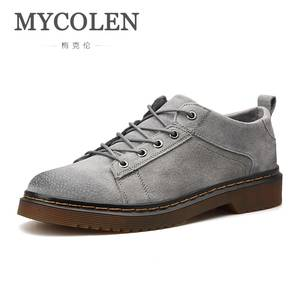 MYCOLEN Fashion Sneakers Rubber-Shoes Walking-Shoes Male Mens Flat Schuhe Autumn Spring